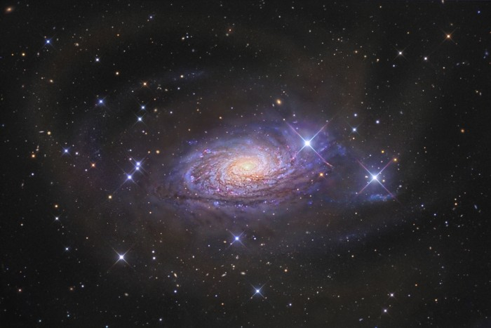 ngc5055 gabany lg 700x467 sunflower galaxy Wallpaper Space