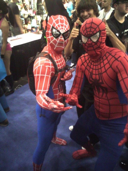CIMG0063 525x700 Comic Con NYC 05 spider man Humor cosplay Comic Books