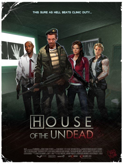 house of the undead left 4 dead art left 4 lupus this sure as hell beats clinic duty1 525x700 House of The Dead!