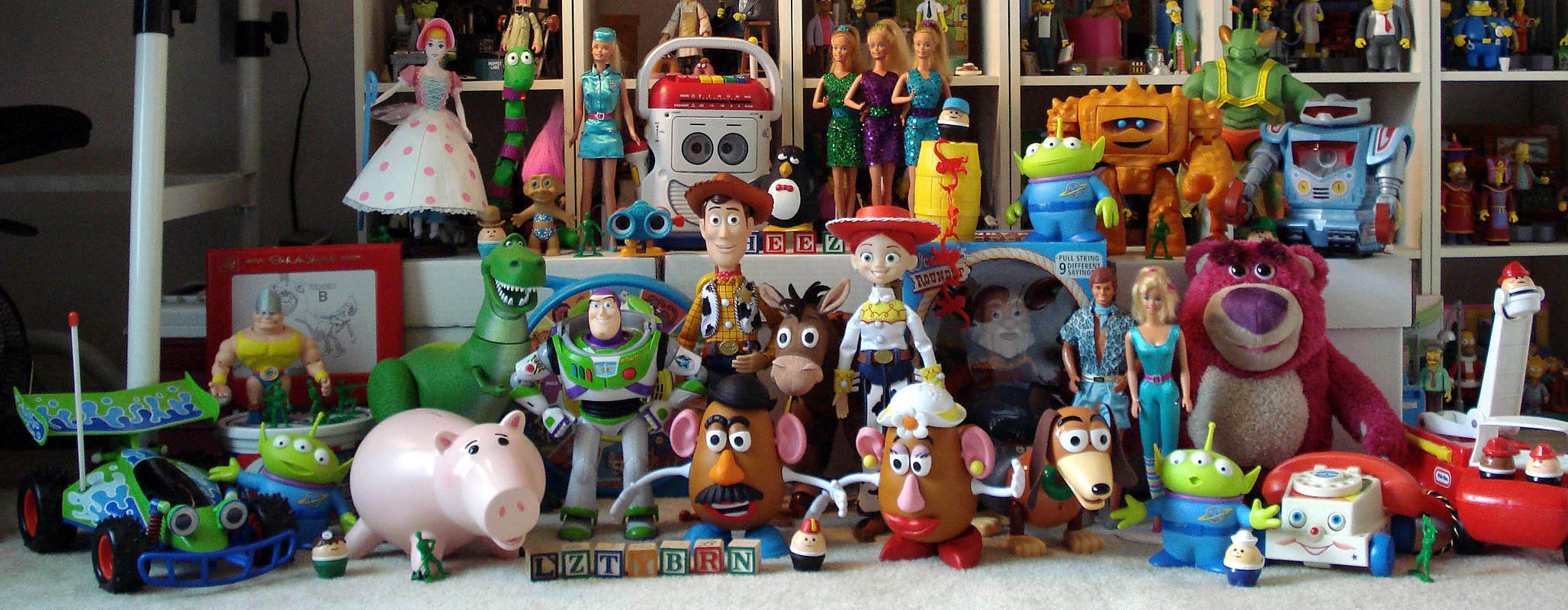 Toy Story Collection Myconfinedspace