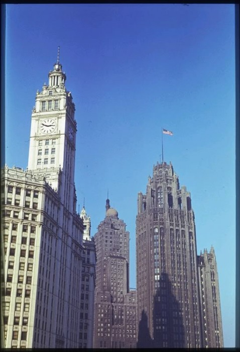 Cush2419 IL Chicago Skyscrapers 478x700 Great Depression Photos Technology