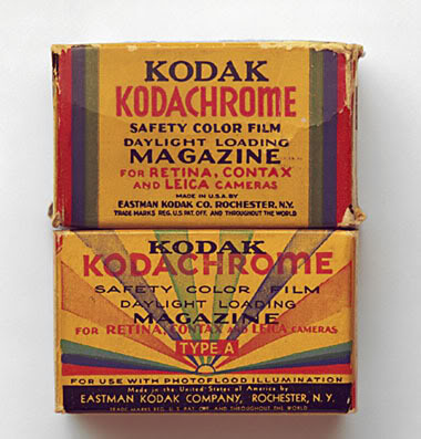 Kodachrome Box Great Depression Photos Technology