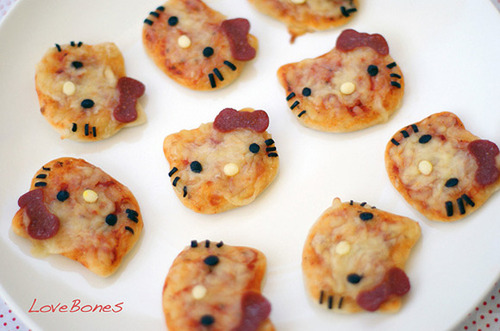 hello kitty pizzas hello kitty pizzas