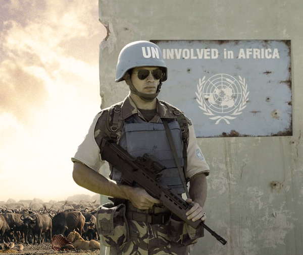 Uninvolved in Africa by gencebay55 Uninvolved wtf Military