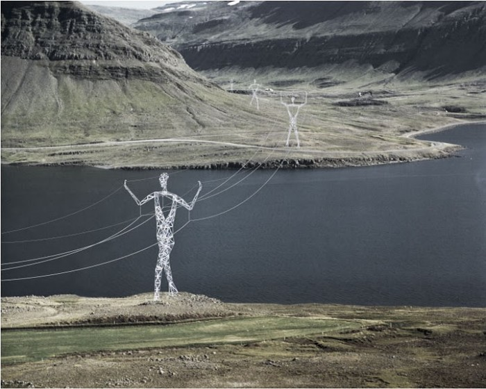 Electricity Pilons 01 700x560 The Land of Giants: Design Proposal For Electricity Pilons.