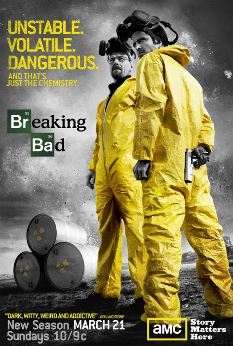 breakingbad poster s3 472x700 Breaking Bad televison Breaking Bad