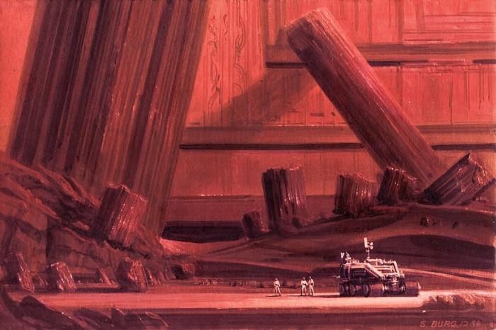 red mystery by steve burg d2zxumr 700x466 the art of Steve Burg Wallpaper Fantasy   Science Fiction
