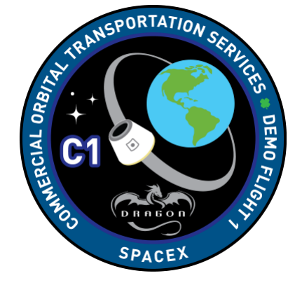 Spacex dragon cots demo 1 logo COTS Demo Flight 1 Technology Awesome Things