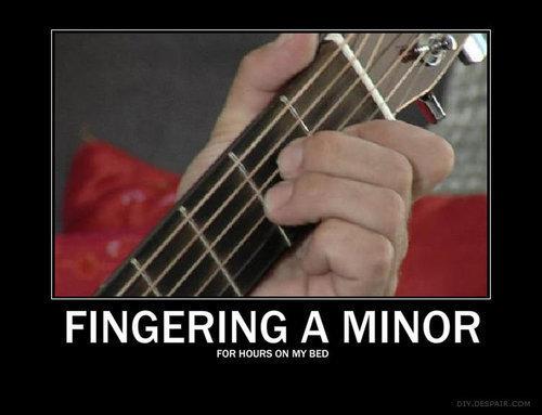 tumblr lbormhQKoC1qa1id2o1 500 Fingering a minor Music Humor