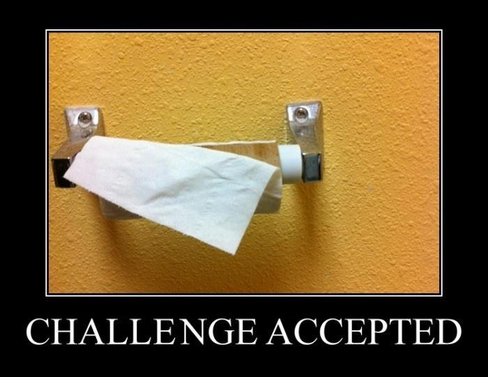 Challenge Accepted Challenge Accepted Humor