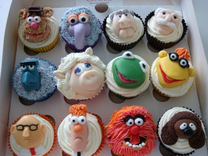 Muppets 700x525 Muppet Cupcakes sesame street Food