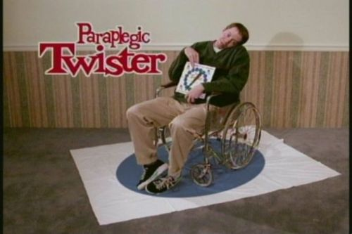 Paraplegic Paraplegic Twister wtf Humor Gaming