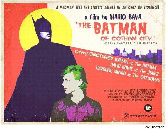 hartterwallpaperbatmoviea Retro movie posters Movie posters Comic Books