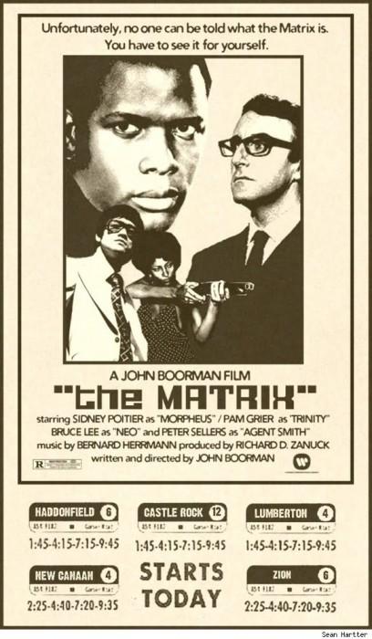 the matrix 408x700 Retro movie posters Movie posters Comic Books