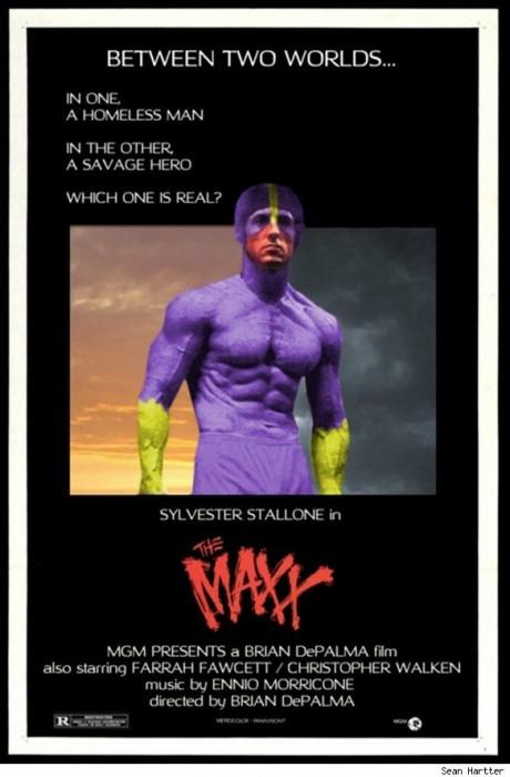 the maxx 460x700 Retro movie posters Movie posters Comic Books