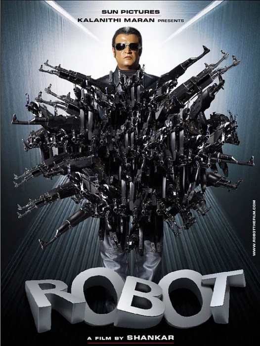 Robo Poster 526x700 Endhiran/ROBOT wtf Movies movie poster