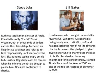 tumblr lf1c2u9UIt1qb5gkjo1 400 Mac Douche steve jobs Humor Bill Gates