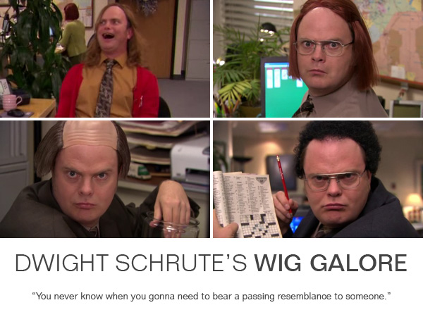 wig galore Dwight wigs
