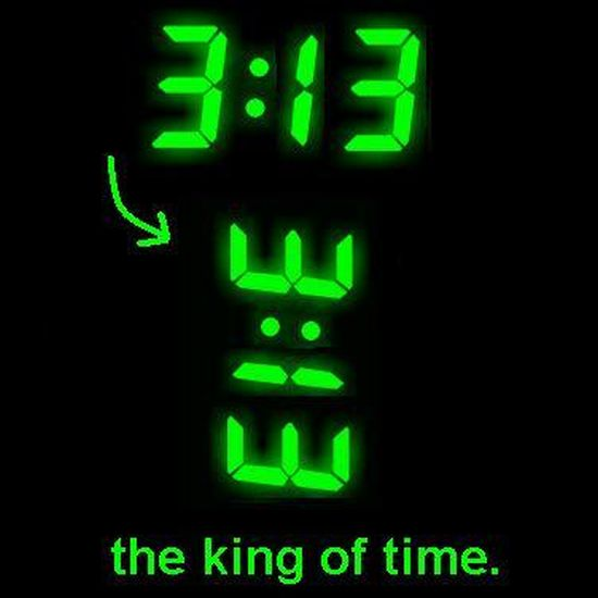 9aDsI 3:13, the king of time