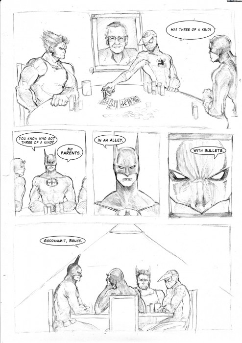 CORk0 494x700 Batman is never fun spider man Humor Comic Books batman