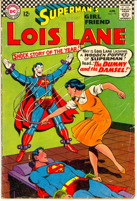 ll73cover 478x700 Lois with a whip Sexist Humor Comic Books