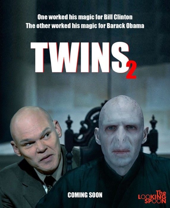 voldemort carville twins poster 572x700 Twins2 Politics Movies Humor