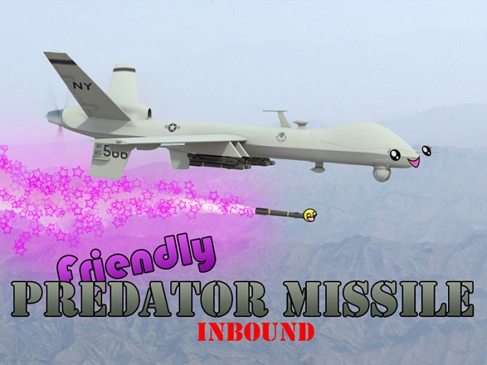 1266218996118 700x525 Friendly Predator Missile wapons Military Humor