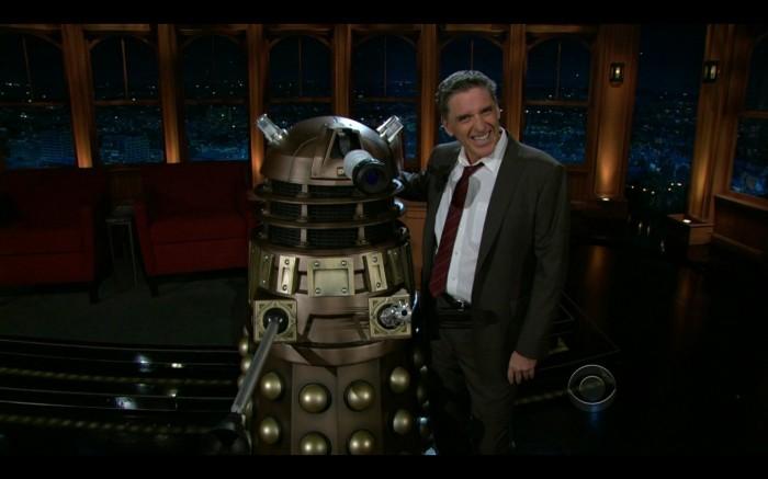 craig ferguson dalek 2010 11 16 at 12.07.31 AM 700x437 Craig Ferguson Late Late Show wtf Television Humor
