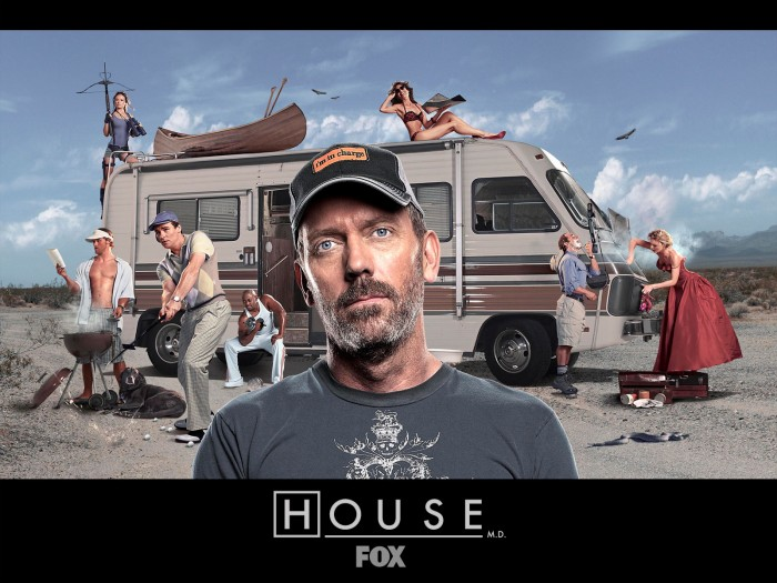 house m d b2cc5215 700x525 House Cast on RV trip Wallpaper Television Advertisements