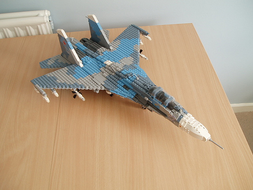 lego su 27 top from the Too Much Time on My Hands files lego airplanes