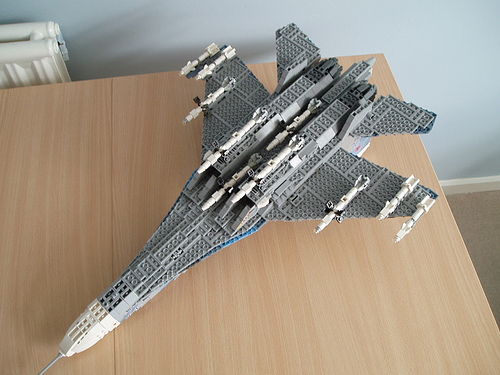 lego su 27 from the Too Much Time on My Hands files lego airplanes