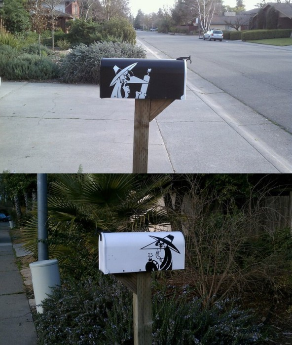 mailbox2 592x700 New Mailbox spy vs spy Humor