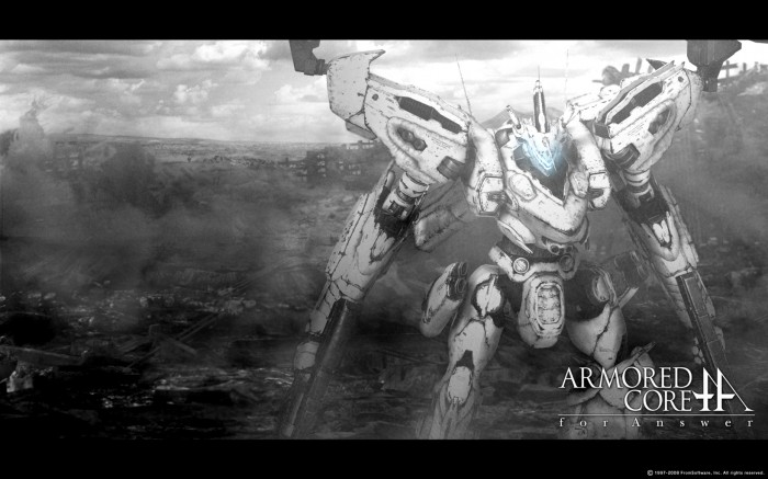 1297020076 armoredcoreforanswer 778274 700x437 Armored Core Wallpaper Gaming armored core