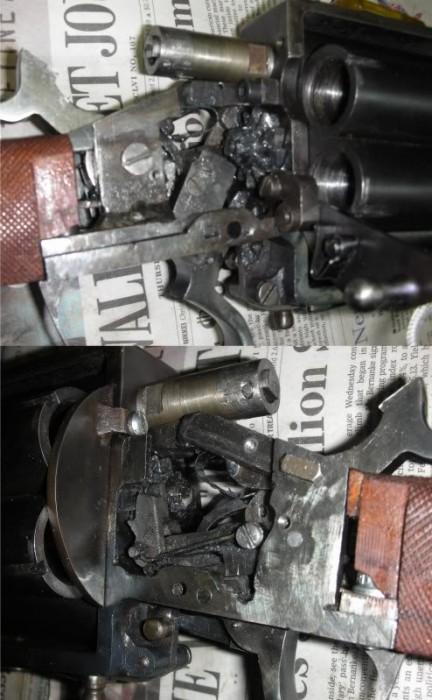 RevolvingShotgunInsideR L 432x700 Homemade Revolving Shotgun