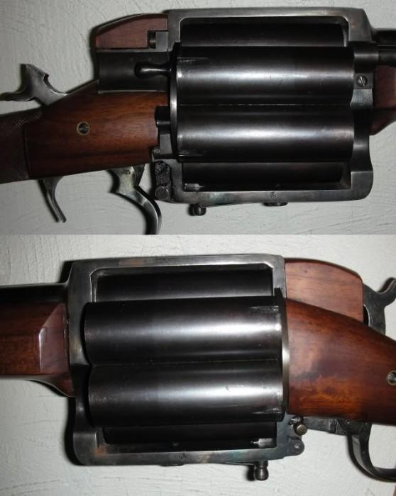 RevolvingShotgunR L 558x700 Homemade Revolving Shotgun