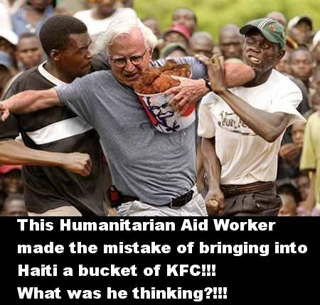 humanitarian aid worker in haiti Haiti