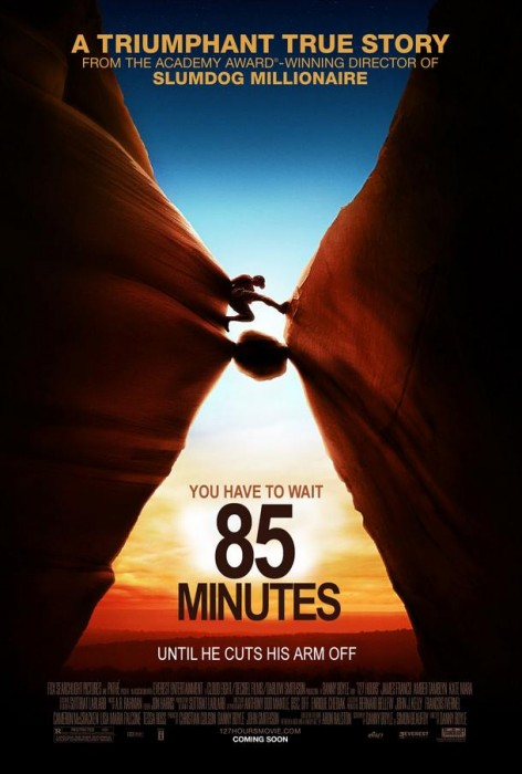 127 hours funny poster 472x700 Movie Posters