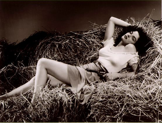 Jane Russell   The Outlaw R.I.P Jane Russel   June 21, 1921 – February 28, 2011 Sexy Sad :(