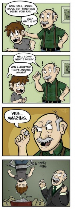 holdstillgrandpa 251x700 The best magic trick Humor
