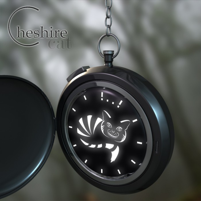 cheshire cat pocket watch design 2 700x700 Chesire Cat Pocket Watch