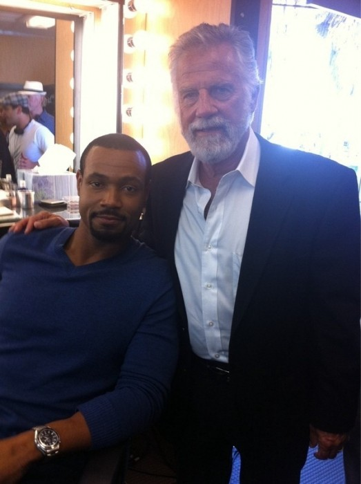 Dos Equis Guy & Old Spice Guy