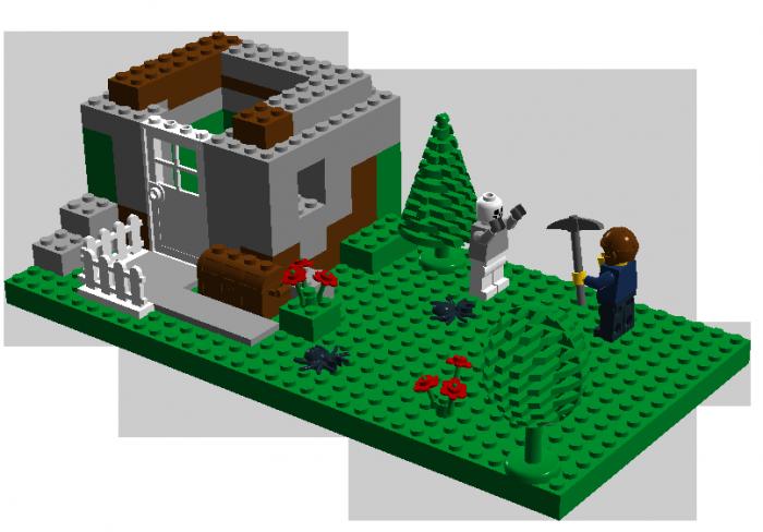 hipstercraft 700x488 Hipster Minecraft minecraft lego Humor