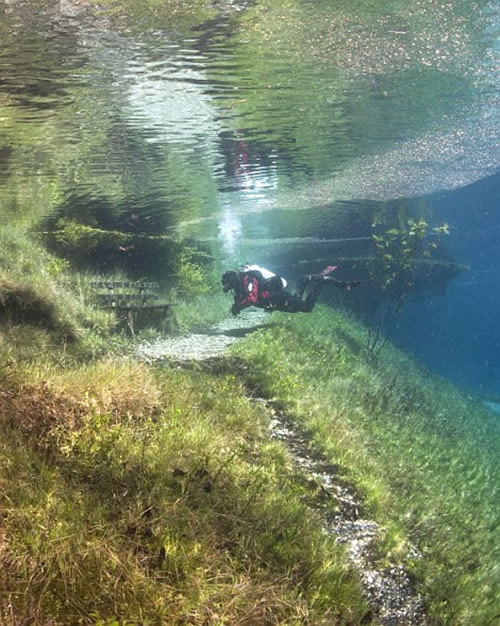 Submerged Hiking Trail