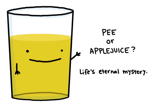 HINT its pee Lifes Eternal Mystery.