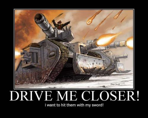 DriveMeCloser.thumbnail Imperial Guard Commander Warhammer 40k Wallpaper Humor