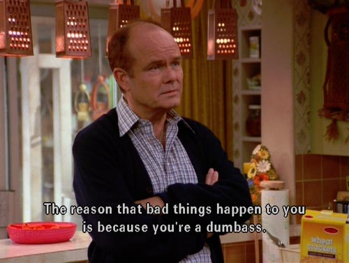 g5rdf The wise Red Foreman That 70s show Humor Forum Fodder