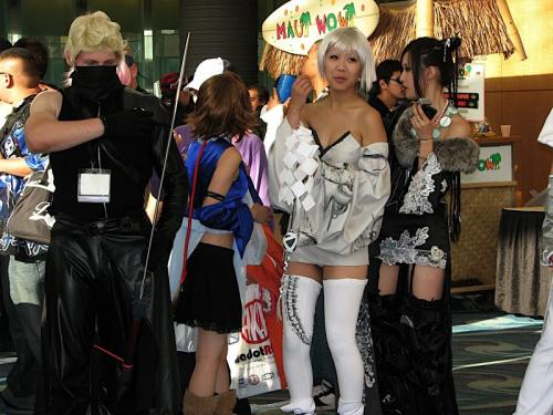 Final Fantasy Cosplayers wtf Sexy Humor Gaming