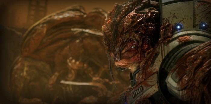 o724644 700x347 bloody krogen Wallpaper Mass Effect Gaming