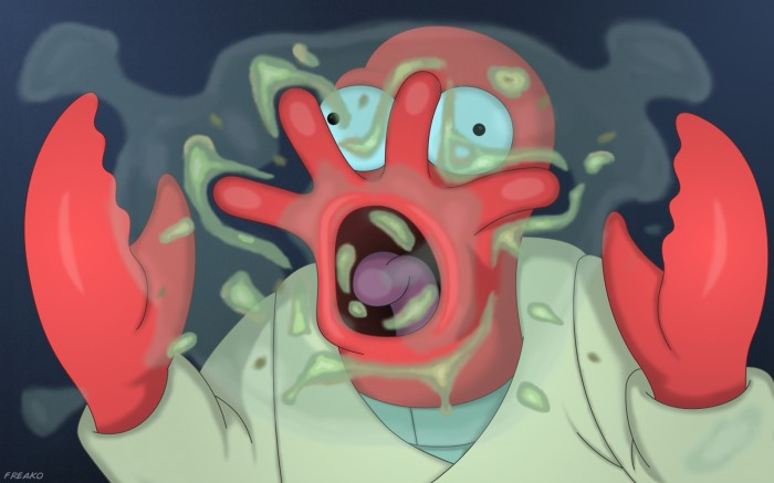 o621372 700x437 hungry alien Wallpaper Futurama