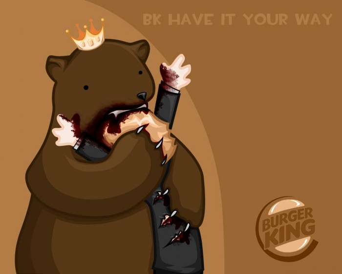 o604513 700x560 have it your way Wallpaper Humor bears